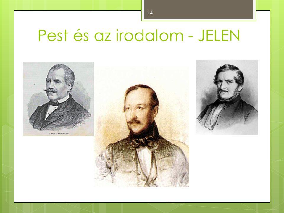 Pest és az irodalom - JELEN 14