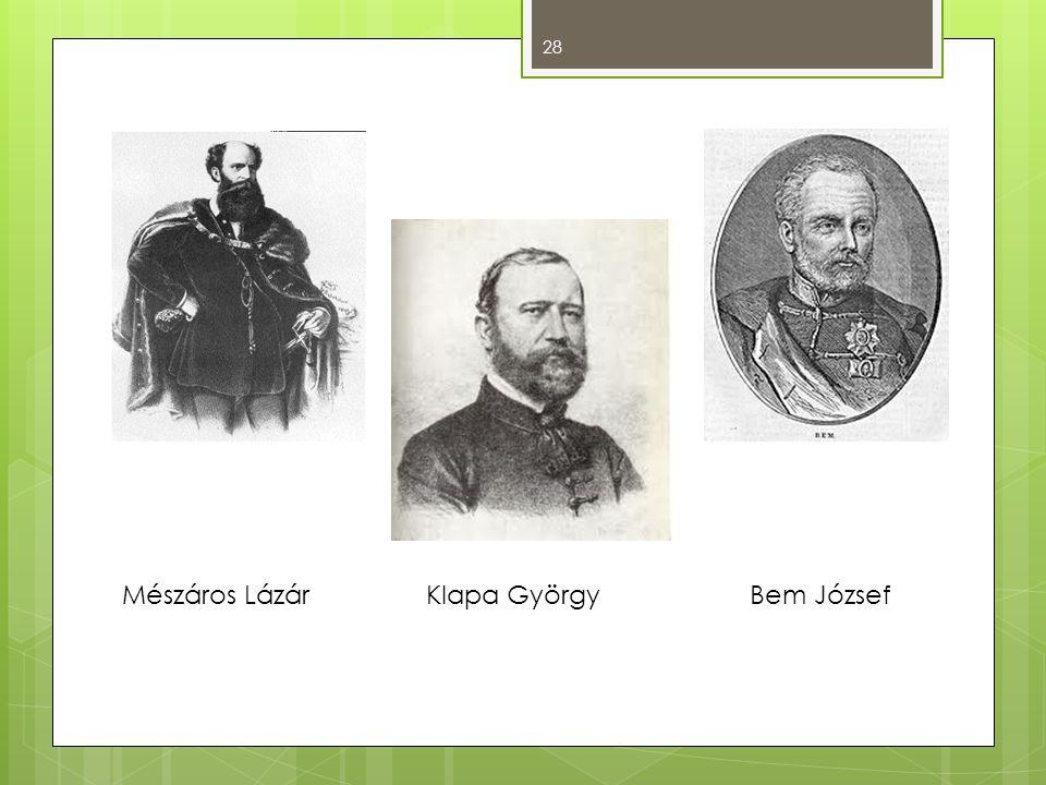 28 Mészáros Lázár Klapa GyörgyBem József