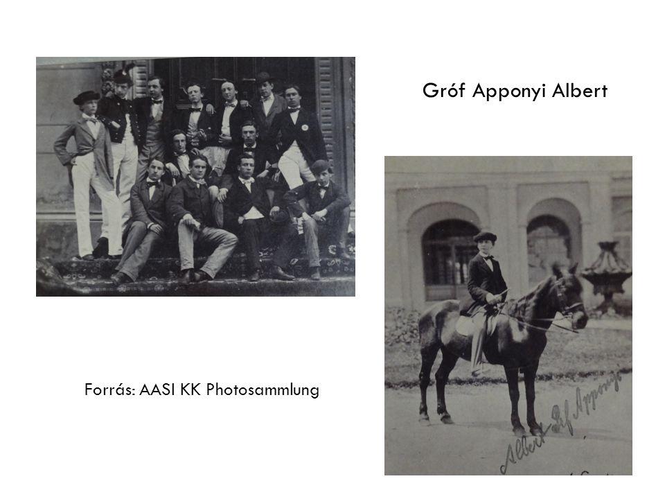 Forrás: AASI KK Photosammlung Gróf Apponyi Albert
