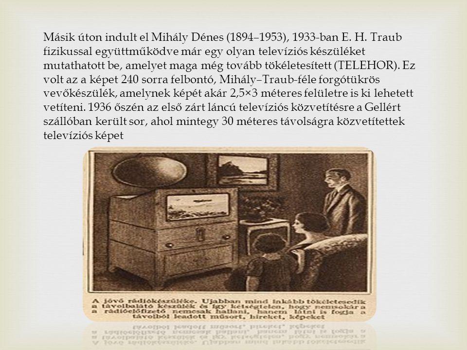 Napjainkban már a háromdimenziós képalkotásra képes televízióval folynak előrehaladott kísérletek világszerte.
