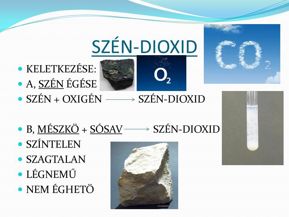 KÉN-DIOXID KÉN + OXIGÉN KÉN-DIOXID SÁRGA SZÍNTELEN SZÍNTELEN SZILÁRD SZAGTALAN SZÚRÓ SZAGÚ LÉGNEMŰ LÉGNEMŰ MÉRGEZŐ http://videa.hu/videok/tudomany-technika/ken-egese- tiszta-oxigenben-kek-kemia-kiserlet-F70qiO2fwcU3GtRc http://videa.hu/videok/tudomany-technika/ken-egese- tiszta-oxigenben-kek-kemia-kiserlet-F70qiO2fwcU3GtRc
