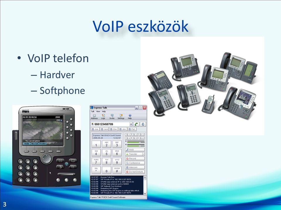 4 VoIP telefon Tekintse meg a Cisco IP telefon bemutatót.