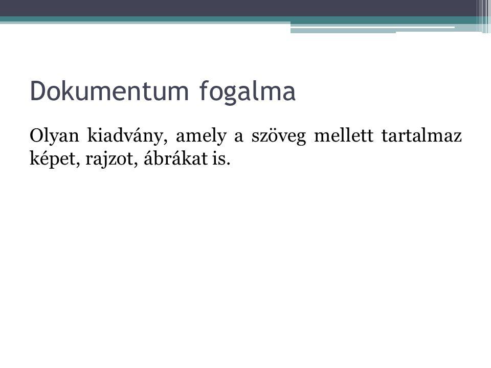 A szöveg egységei Karakter: A szöveg legkisebb egysége, amely lehet betű, számjegy vagy jel.