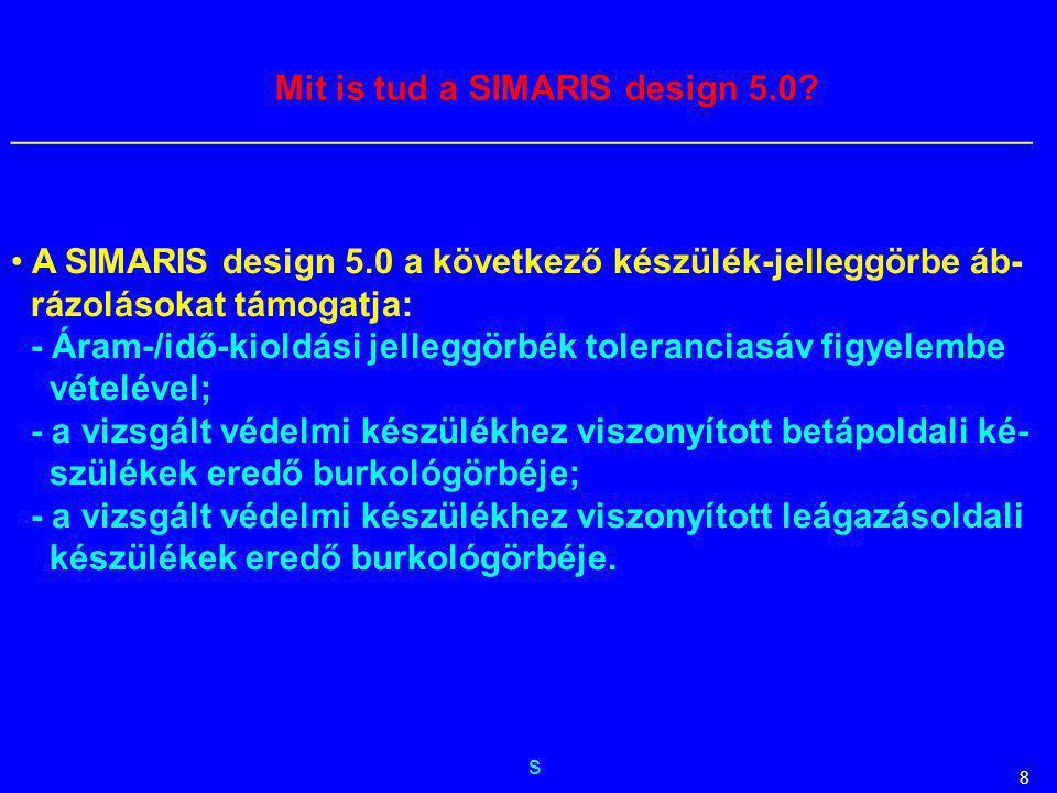s __________________________________________________________ 8 Mit is tud a SIMARIS design 5.0? A SIMARIS design 5.0 a következő készülék-jelleggörbe