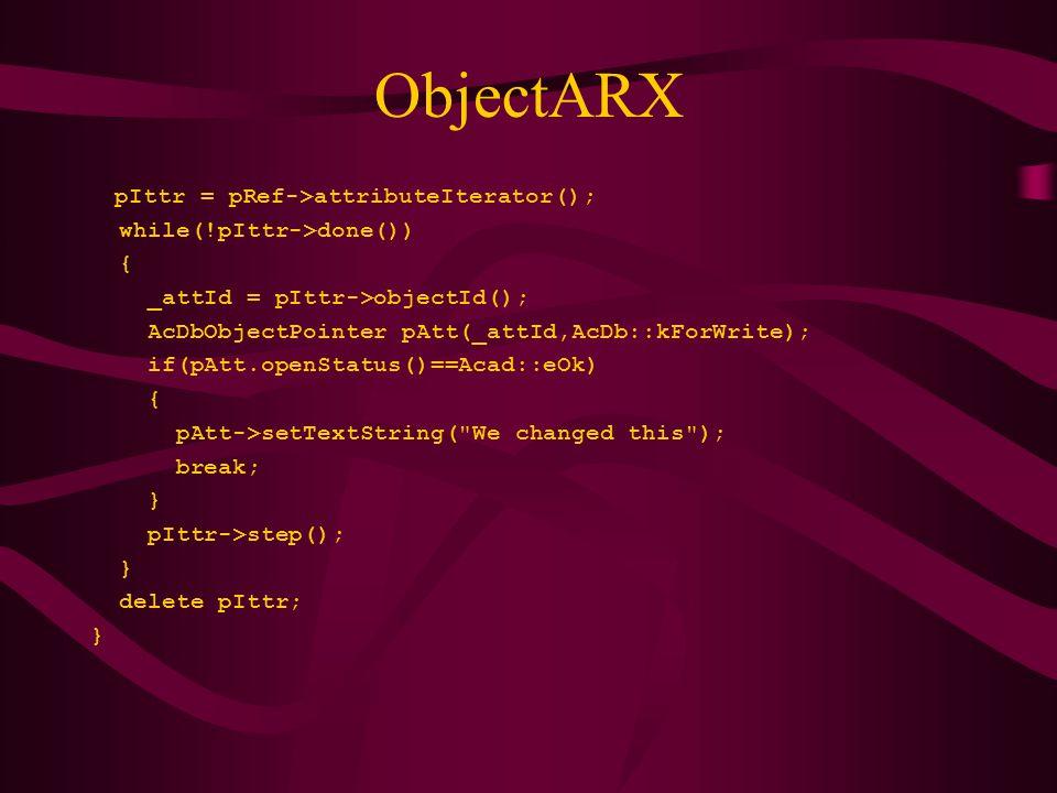 AutoCAD parancs használata AutoCAD parancsot hajt végre az AutoLISP programból (command argumentumok...