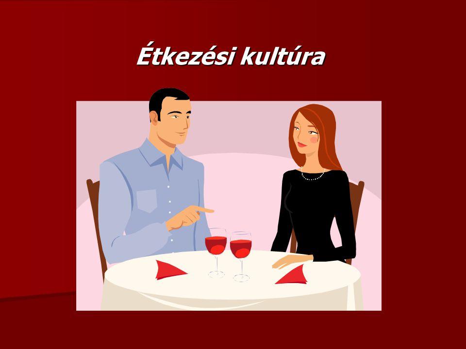 Az összes hivatalos étkezéses alkalmak közös jellemzője, hogy nem jóllakni megyünk oda.
