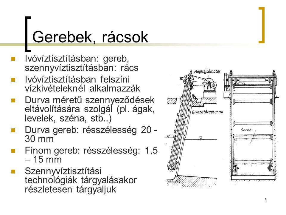 4 Szitaszűrés Alapelv: vékony szitaanyagon keresztül történő szűrés Célja az ülepítő vagy derítő terhelésének csökkentése Makro-szita szűrés: szitaszövet nyílásmérete 0,3-2,5 mm.