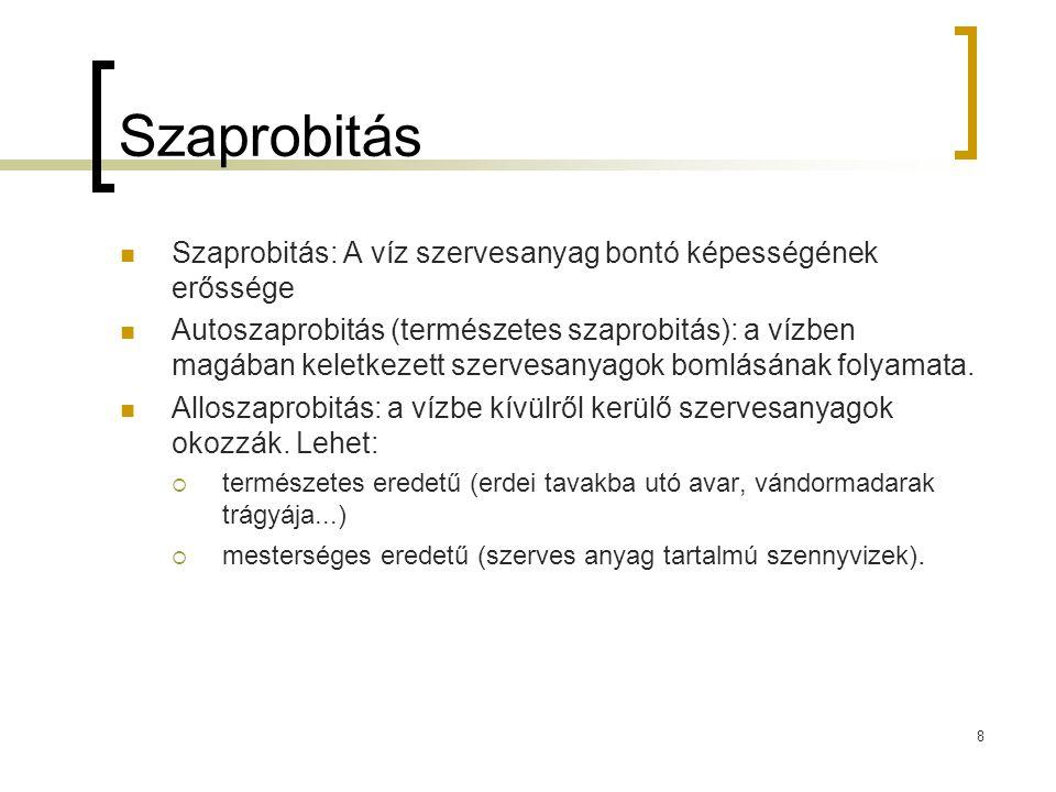 Főbb hidromorfológiai kockázati tényezők Hosszanti átjárhatóság akadályozottsága Völgyzárógátas átfolyó tározó, Duzzasztás Vízkivétel Vízmegosztás Keresztszelvény menti elváltozások, Szabályozással kapcsolatos elváltozások Kotrás Burkolatok 29