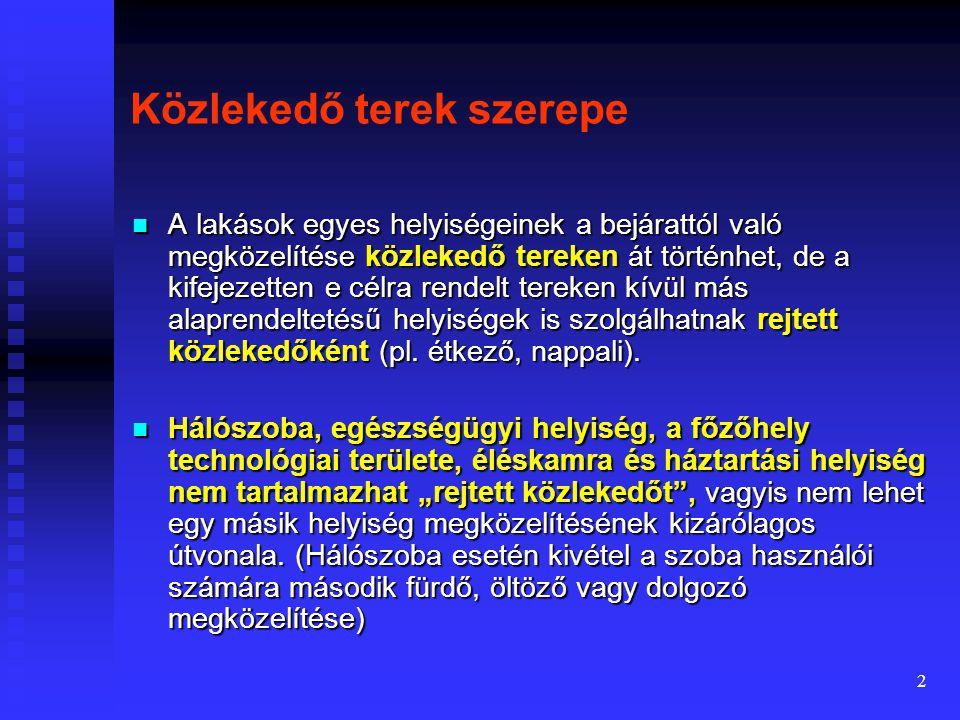Lakásterek kapcsolatrendszere Előadó: Dr. Tiderenczl Gábor Felhasznált irodalom: Dr. Bitó János: Lakóházak Tervezése Pécsi Tudományegyetem Pollack Mih