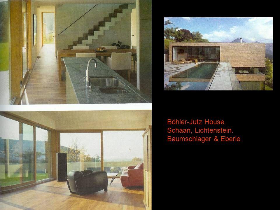 5 Böhler-Jutz House. Schaan, Lichtenstein. Baumschlager & Eberle