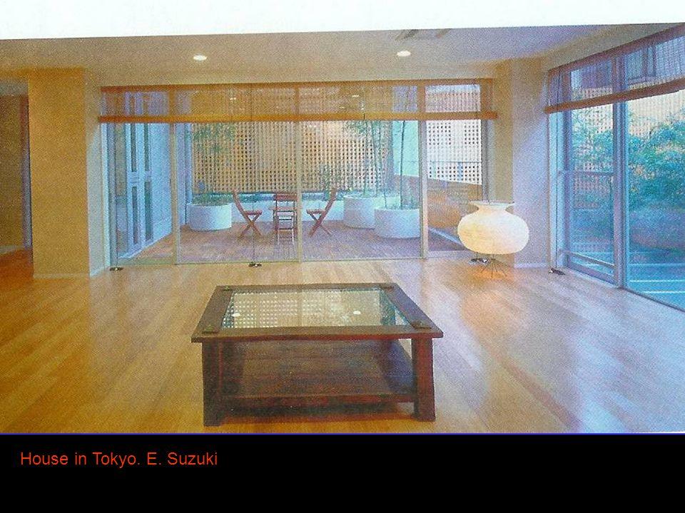 8 House in Tokyo. E. Suzuki