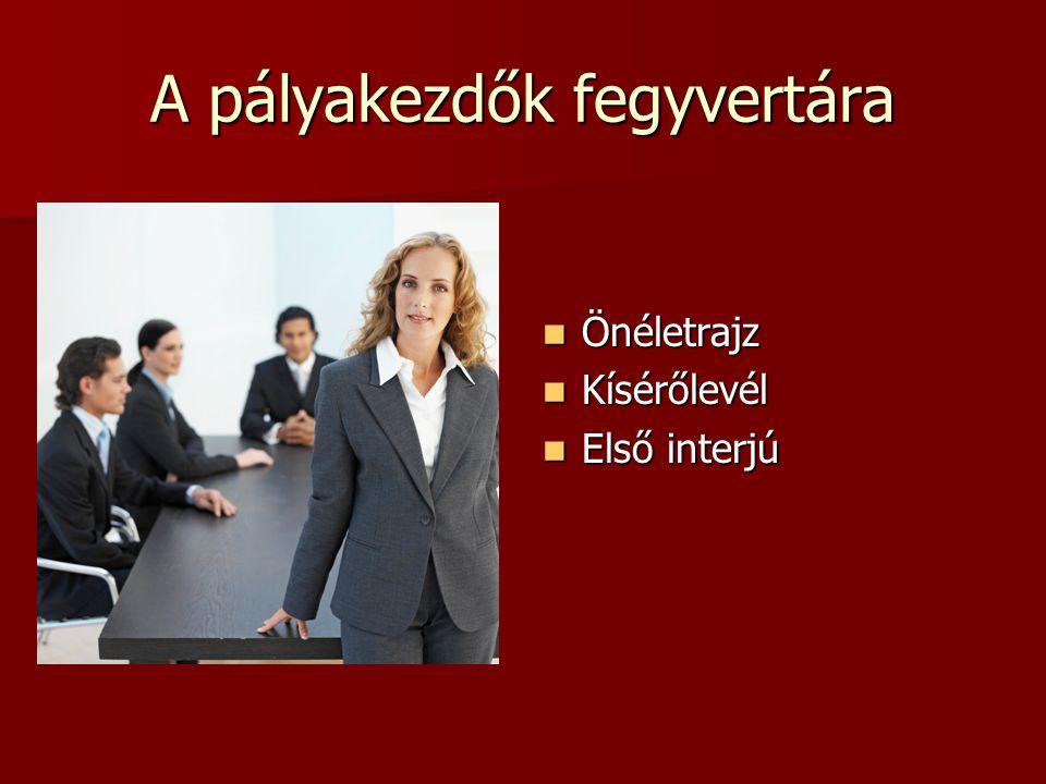 Interjú Öltözködésünkkel is azt a hatást kell keltenünk, hogy a munkáltató nyer velünk.
