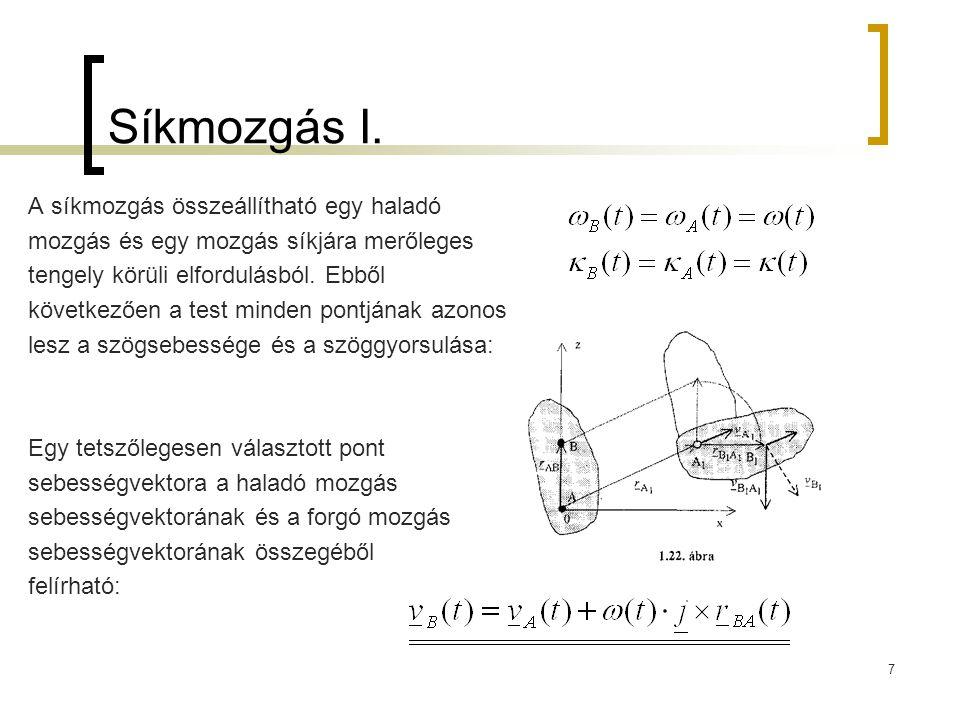 8 Síkmozgás II.