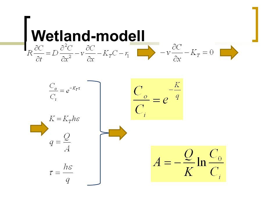 Wetland-modell