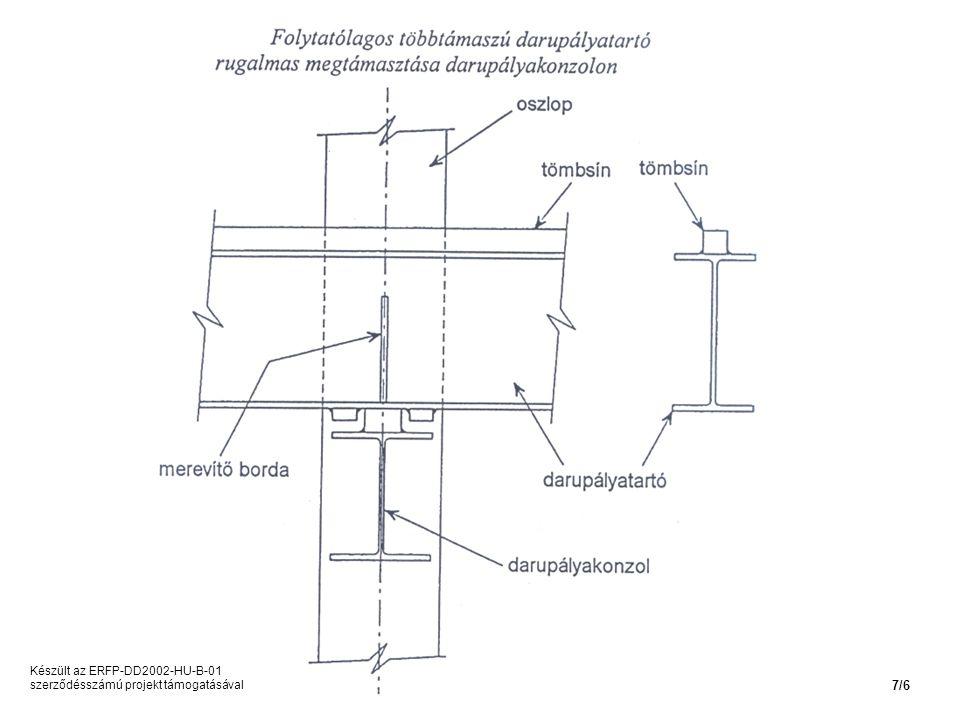 Készült az ERFP-DD2002-HU-B-01 szerződésszámú projekt támogatásával 7/6