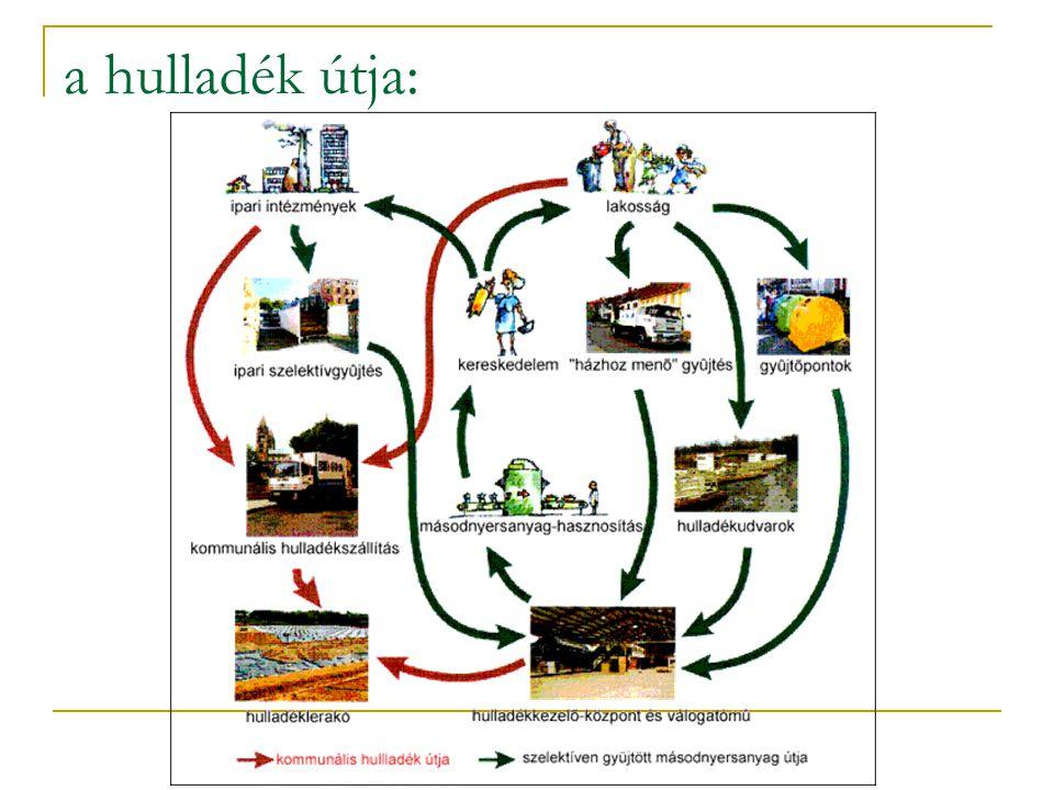 konténeres szállítás Előnyei:  különféle darabos hulladék befogadására is alkalmas az edényzet,  miután a tartályt a helyszínen nem ürítik ki, így az elszállítás higiénikus körülmények között történik,  a rakodás, szállítás munkaerőigénye minimális.