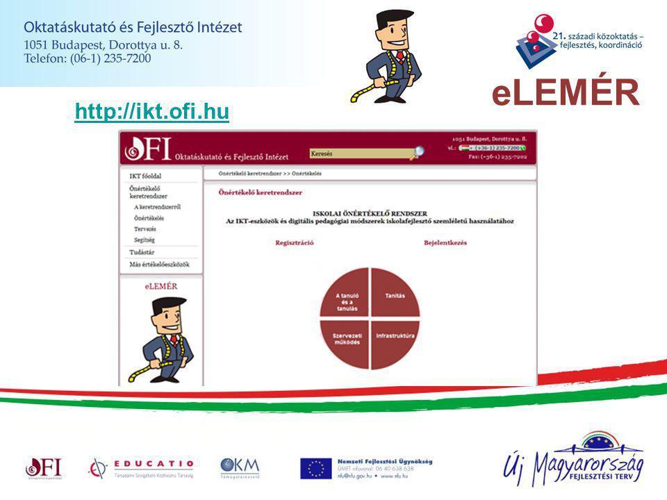 eLEMÉR http://ikt.ofi.hu