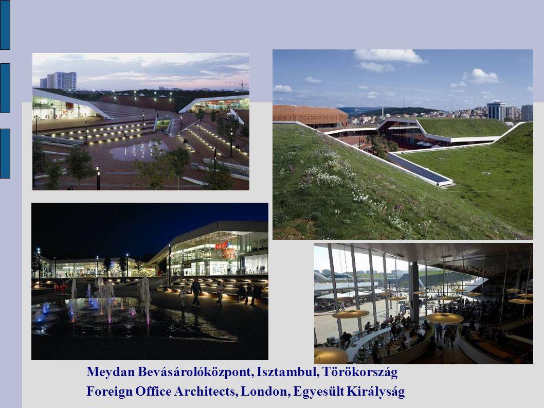 Meydan Bevásárolóközpont, Isztambul, Törökország Foreign Office Architects, London, Egyesült Királyság