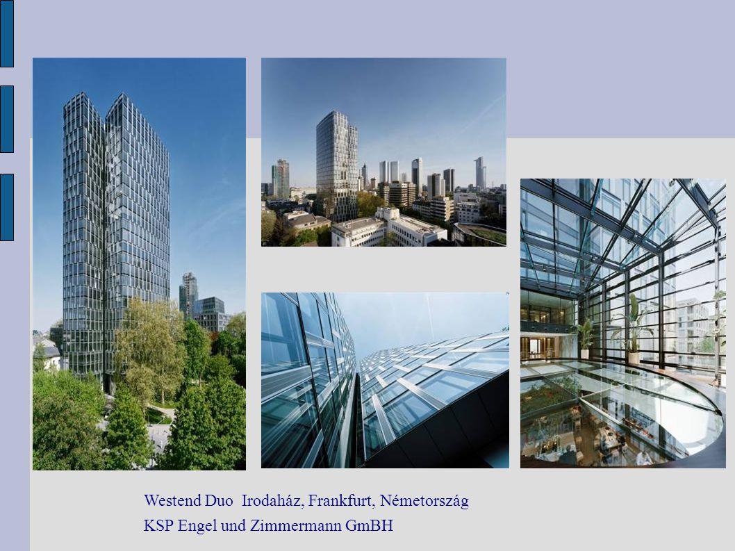 Westend Duo Irodaház, Frankfurt, Németország KSP Engel und Zimmermann GmBH