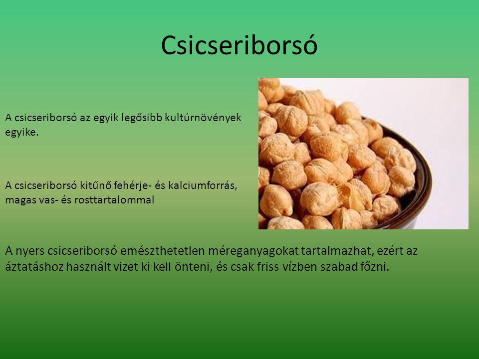 Hatásai: Csökkenti a koleszterin szintet Ritkábban alakul ki szív- és érrendszeri betegségek kialakulását