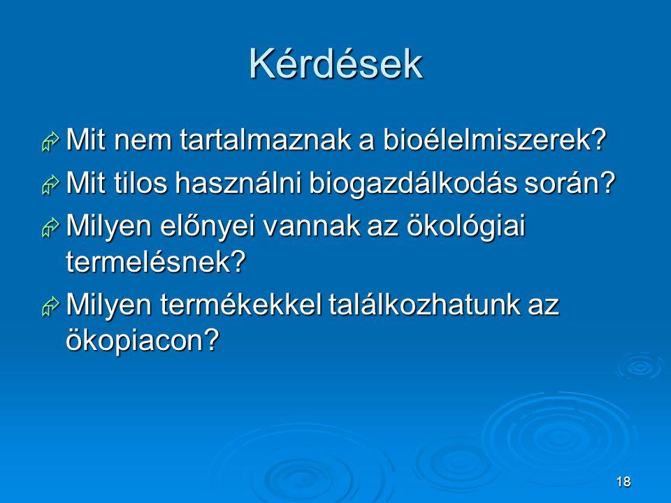 19 Források  http://www.hazipatika.com/taplalkozas/egeszseg_es_gas ztronomia/cikkek/bioelelmiszerek_okopiac_az_egeszseg ert/20030310172618 http://www.hazipatika.com/taplalkozas/egeszseg_es_gas ztronomia/cikkek/bioelelmiszerek_okopiac_az_egeszseg ert/20030310172618 http://www.hazipatika.com/taplalkozas/egeszseg_es_gas ztronomia/cikkek/bioelelmiszerek_okopiac_az_egeszseg ert/20030310172618  http://www.hoxa.hu/?p1=cikk&p2=1446 http://www.hoxa.hu/?p1=cikk&p2=1446  http://www.tudatoslet.hu/index.php/tudatos-fzes/fzz- tudatosan/84-bioelelmiszerek-a-mindennapi- taplalkozasban http://www.tudatoslet.hu/index.php/tudatos-fzes/fzz- tudatosan/84-bioelelmiszerek-a-mindennapi- taplalkozasban http://www.tudatoslet.hu/index.php/tudatos-fzes/fzz- tudatosan/84-bioelelmiszerek-a-mindennapi- taplalkozasban