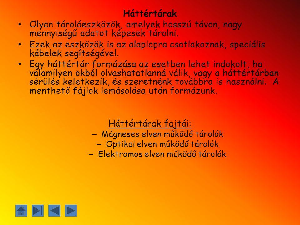 Források: Tankönyv: Takács Barnabás, Devecz Ferenc, Jónás Katalin, Juhász Tibor, Kévés Rita, Reményi Zoltán, Siegler Gábor : Irány az ECDL.