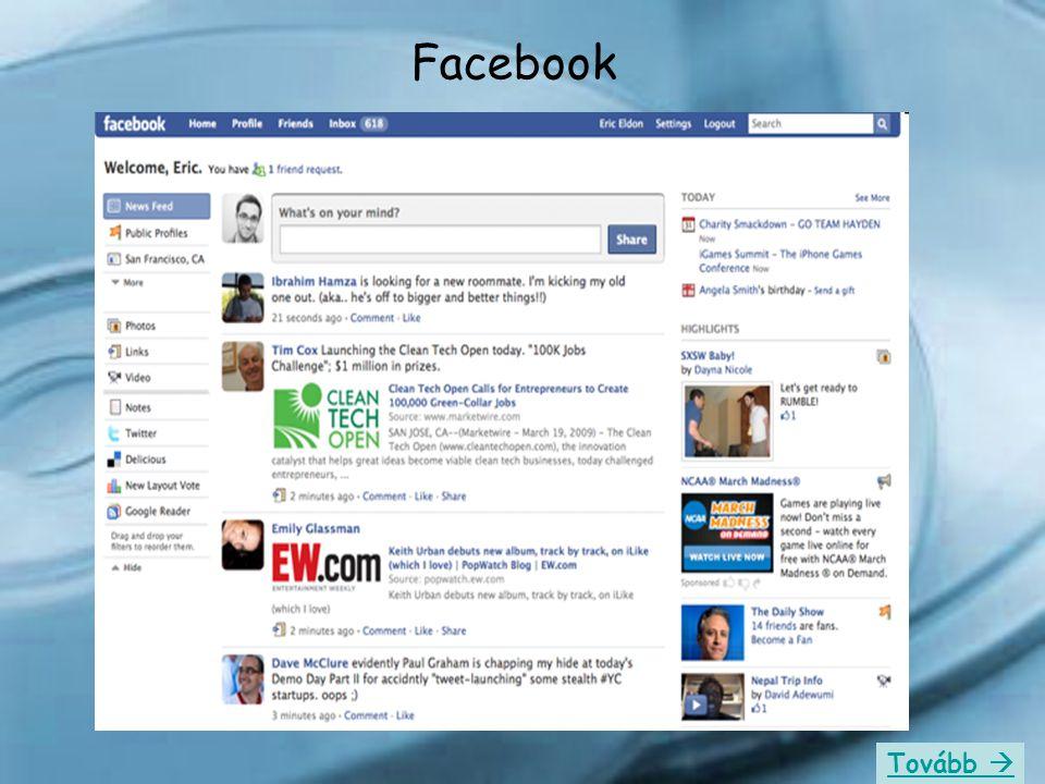 Facebook Tovább 