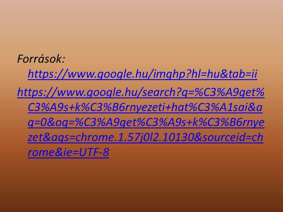 Források: https://www.google.hu/imghp?hl=hu&tab=ii https://www.google.hu/imghp?hl=hu&tab=ii https://www.google.hu/search?q=%C3%A9get% C3%A9s+k%C3%B6rn