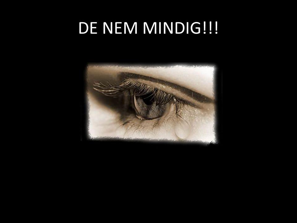 DE NEM MINDIG!!!