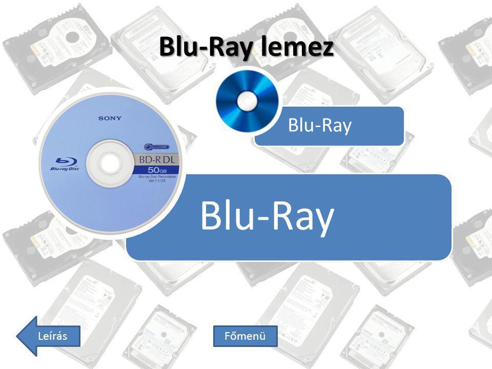 Blu-Ray Blu-Ray lemez Blu-Ray Leírás Főmenü