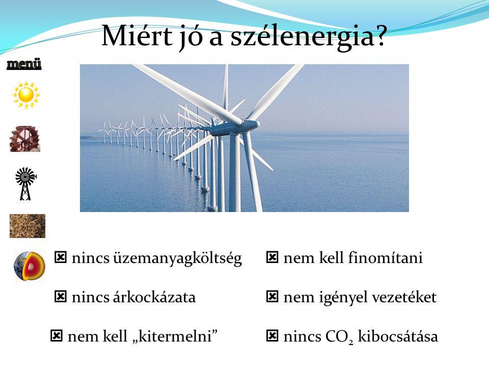 Miért jó a szélenergia.