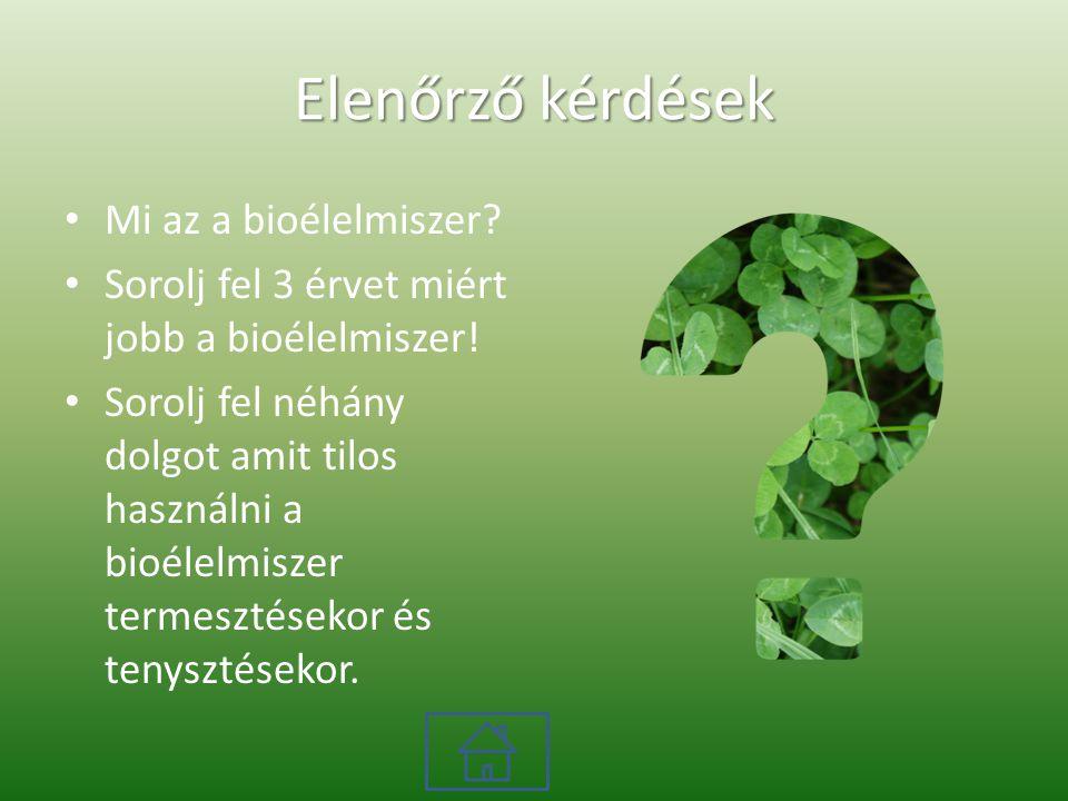 Biogazdálkodás Világ minden részén jelen van a biogazdálkodás.