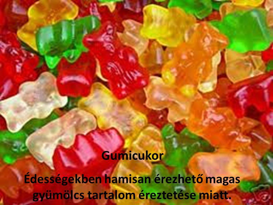 Az élelmiszerekben természetes tartalomként jelenlevő színezőanyagok.