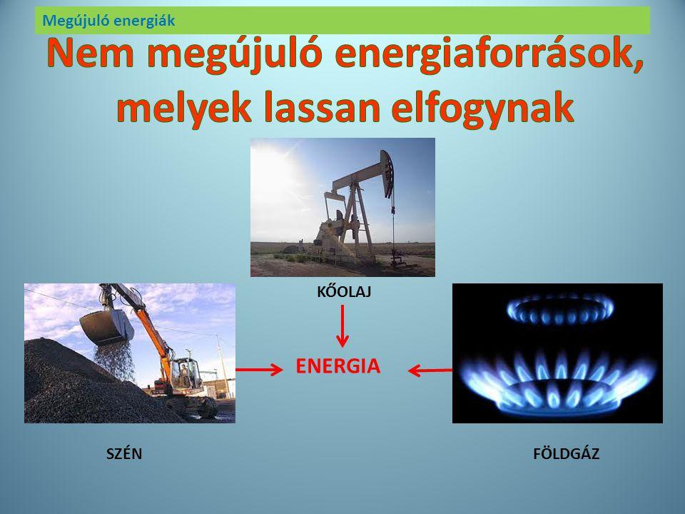 Megújuló energiák Ha eszünk, iszunk, főzünk, fűtünk, közlekedünk, vásárolunk, zenét hallgatunk, tévézünk, telefonálunk energiát használunk. Fel akarju