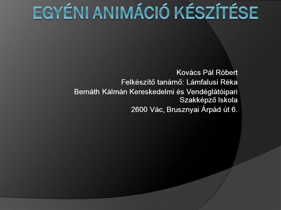 Kovács Pál Róbert Felkészítő tanárnő: Lámfalusi Réka Bernáth Kálmán Kereskedelmi és Vendéglátóipari Szakképző Iskola 2600 Vác, Brusznyai Árpád út 6.