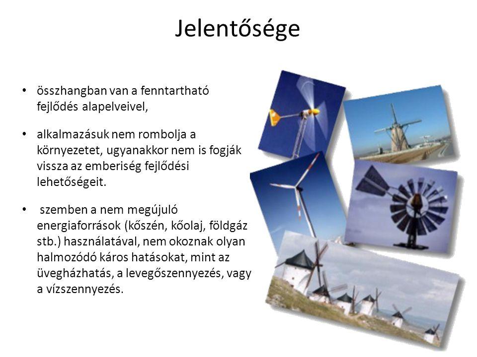 Geotermikus energia A Föld belső hőjéből származó energia, lefelé haladva kilométerenként 30 °C-kal emelkedhet a hőmérséklet.