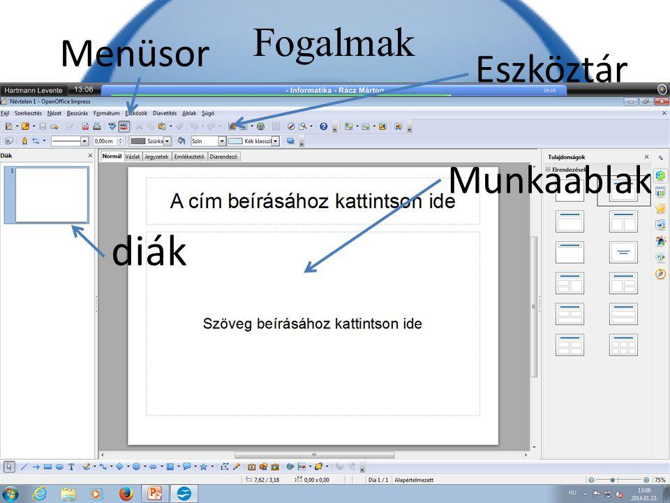 Képek beszúrása Képeket többféleképpen be lehet szúrni az OpenOffice-ba, akár tárhelyről, akár internetről.