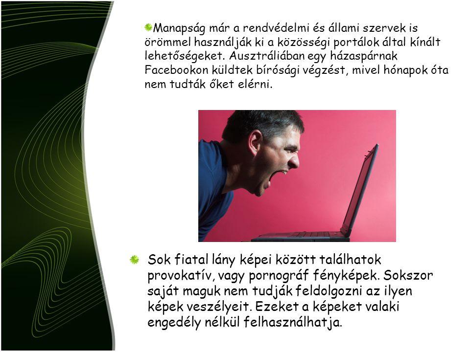 Vírusok a közösségi portáloknak köszönhetően Az ismerősöknek továbbított hivatkozások sok mindent tartalmazhatnak.