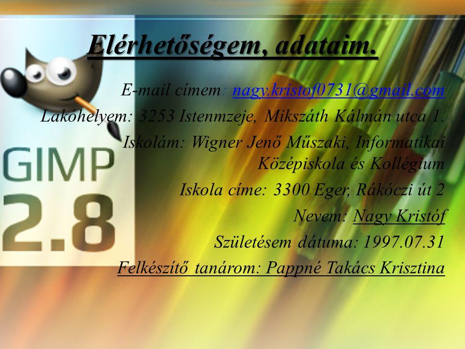 A GIMP rétegei és használata 2013.12.27