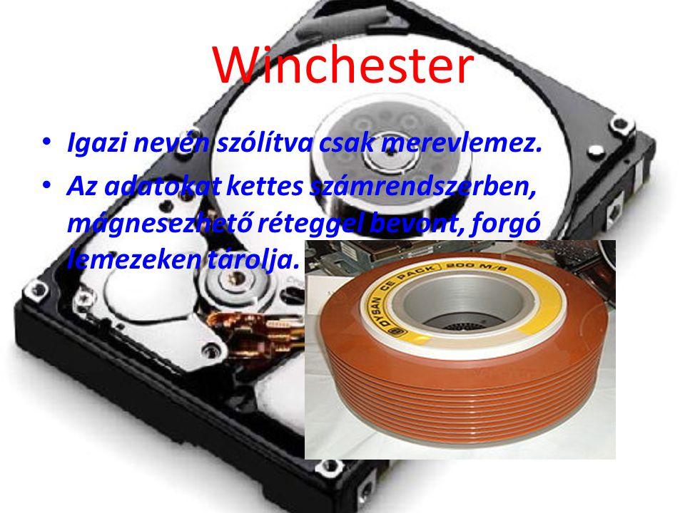 Winchester Igazi nevén szólítva csak merevlemez.