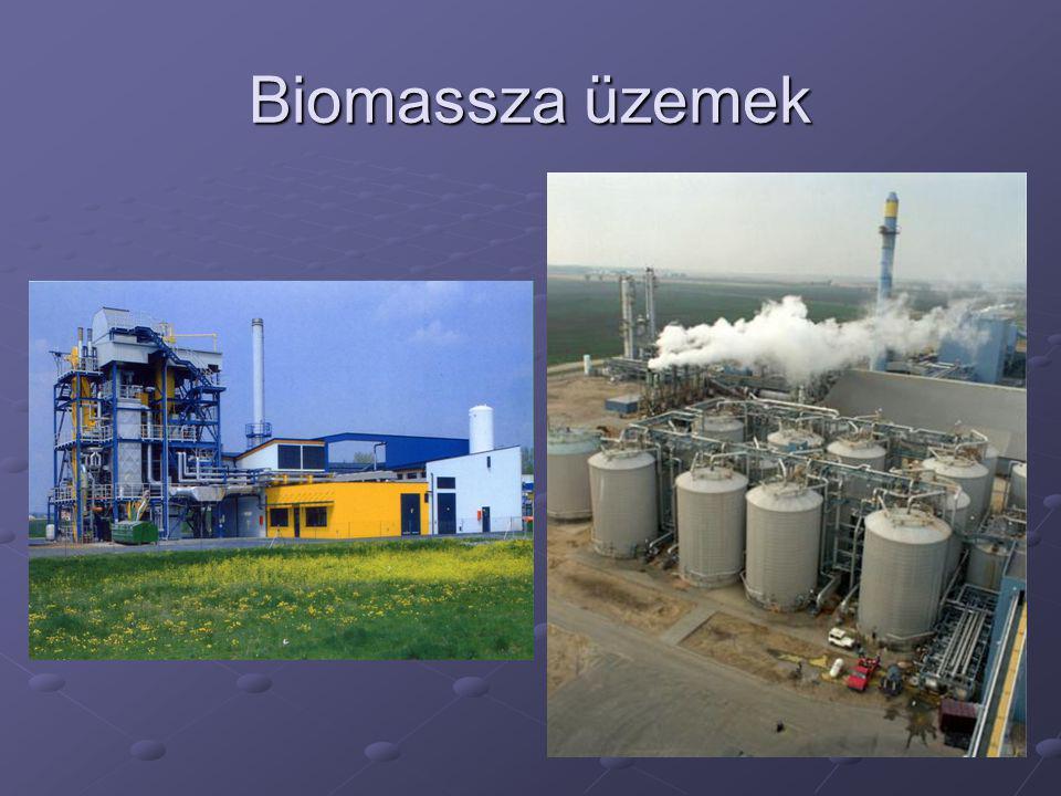 Biomassza üzemek