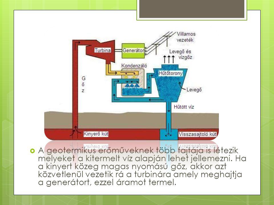 Geotermikus energia  A geotermikus energia a Föld belső hőjéből származó energia. A Föld belsejében lefelé haladva kilométerenként átlagosan 30 °C-ka