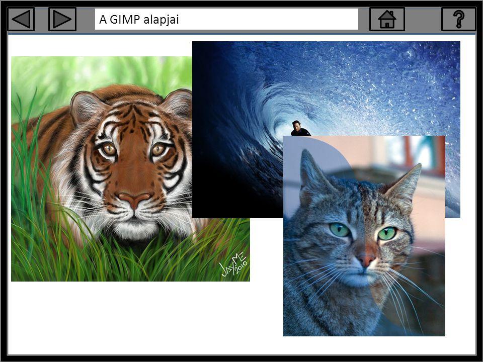A GIMP alapjai