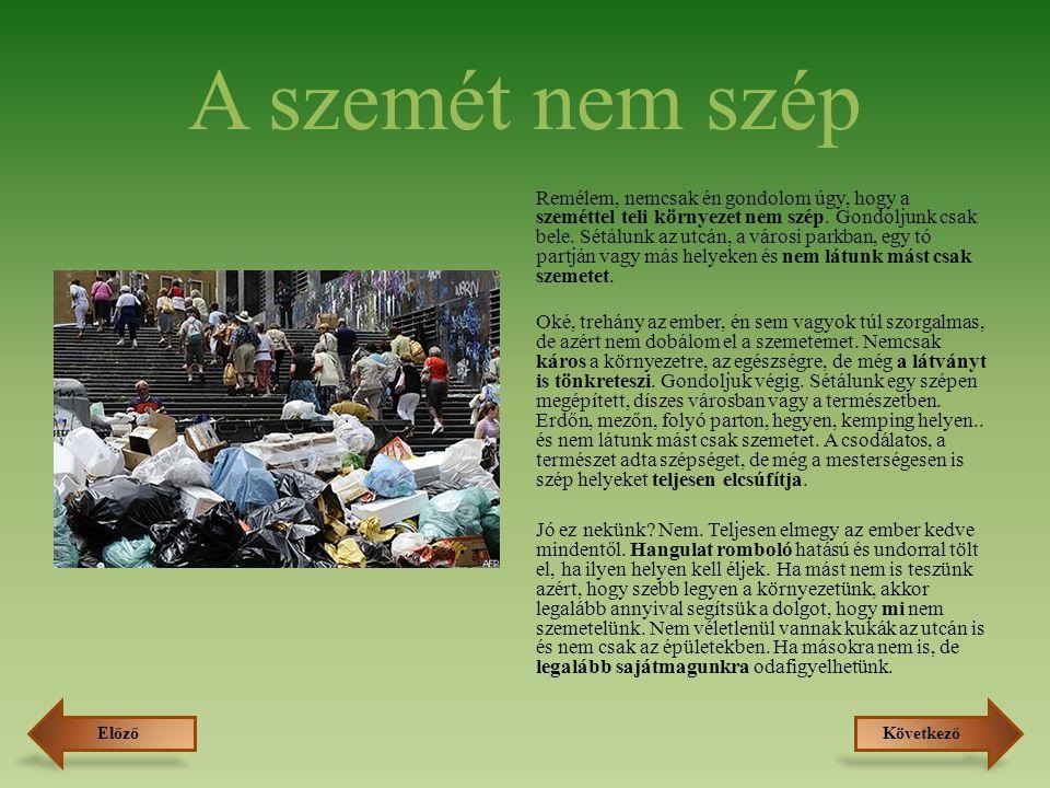 A szelektíven gyűjtött hulladék útja Általánosan, az első lépések: A szelektíven gyűjtött hulladékot először kiválogatják, amiben fontos szerepet játszik az emberi munkaerő.