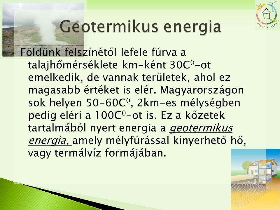  Megfelelő (déli) tájolással maximális nap energiafelhasználásra lehetőség bármely évszakban.