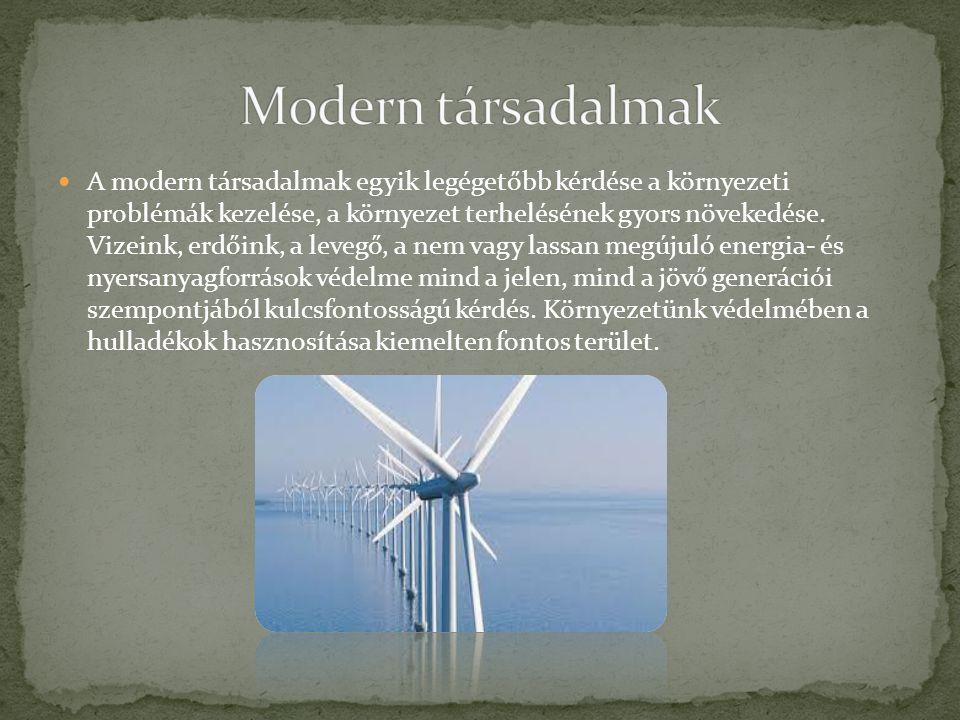 A modern társadalmak egyik legégetőbb kérdése a környezeti problémák kezelése, a környezet terhelésének gyors növekedése. Vizeink, erdőink, a levegő,
