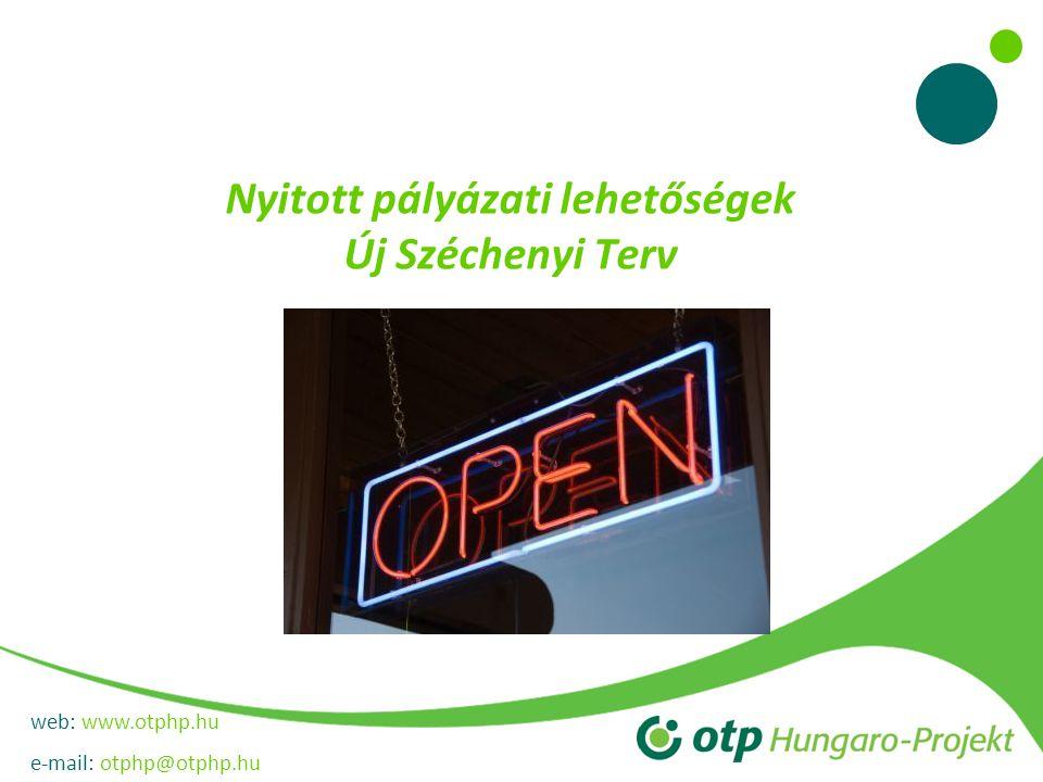 web: www.otphp.hu e-mail: otphp@otphp.hu Vállalati tanácsadás támogatása Az OTP Bank által vezetett Konzorcium segítséget nyújt a hazai vállalkozások számára tanácsadói programjának beindításával.