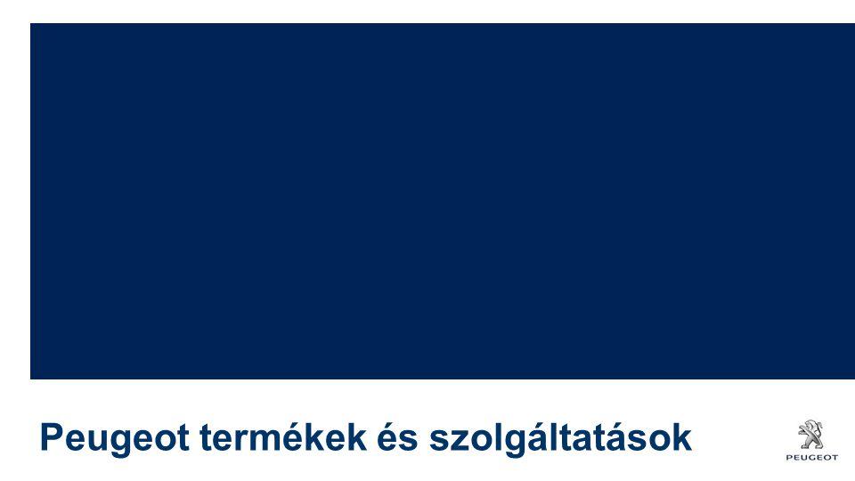 Peugeot termékek és szolgáltatások