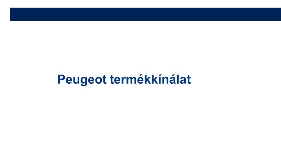 Peugeot termékkínálat