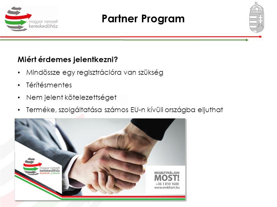Országos export-tanácsadási roadshow Új piacok, új lehetőségek a magyar vállalkozások előtt.
